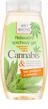 Bione Cosmetics Cannabis успокояващ душ гел