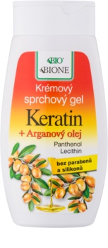 Bione Cosmetics Argan Oil + Karité gel doccia con olio di argan