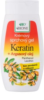 Bione Cosmetics Argan Oil + Karité sprchový gél s arganovým olejom