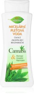 Bione Cosmetics Cannabis eau micellaire démaquillante et nettoyante