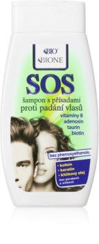 Bione Cosmetics SOS šampón proti rednutiu a vypadávaniu vlasov