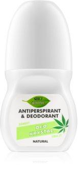 Bione Cosmetics Cannabis dezodorant w kulce o zapachu kwiatów