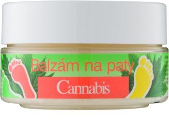 Bione Cosmetics Cannabis balsamo per pelle indurita per talloni