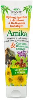 Bione Cosmetics Cannabis balsam vegetal cu arnică și extract de castan