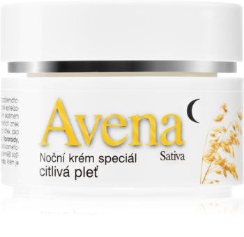 Bione Cosmetics Avena Sativa Nachtcreme für empfindliche Haut