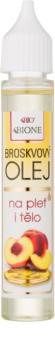 Bione Cosmetics Face and Body Oil косметична олійка персикових кісточок для обличчя та тіла