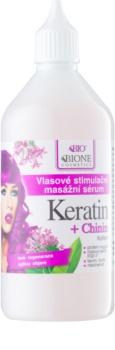Bione Cosmetics Keratin + Chinin ser pentru stimulare par