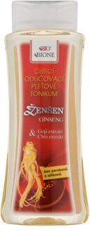 Bione Cosmetics Ginseng Goji + Chia arctisztító és sminkeltávolító tonik