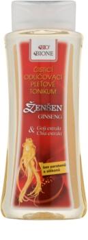 Bione Cosmetics Ginseng Goji + Chia Renande och sminkborttagande toner