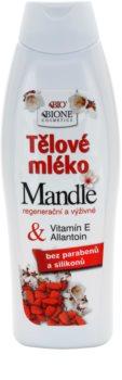 Bione Cosmetics Almonds hranjivo mlijeko za tijelo s bademovim uljem