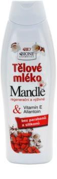 Bione Cosmetics Almonds výživné tělové mléko s mandlovým olejem