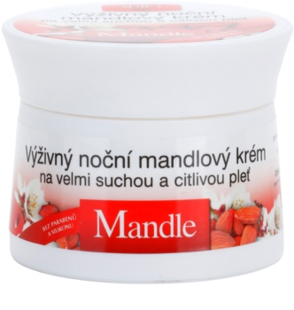 Bione Cosmetics Almonds nährende Nachtcreme für sehr trockene und empfindliche Haut