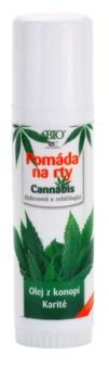 Bione Cosmetics Cannabis pomádé az ajkakra