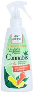 Bione Cosmetics Cannabis σπρέι για τα πόδια
