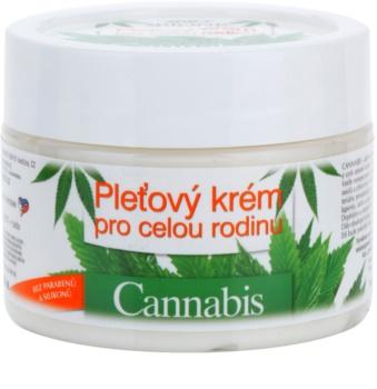 Bione Cosmetics Cannabis arckrém az egész családnak