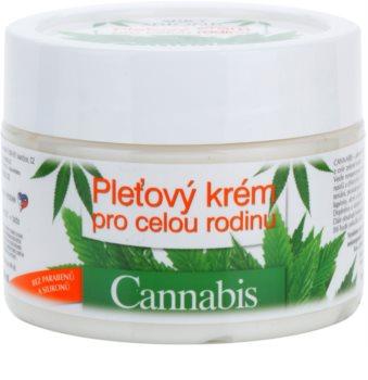 Bione Cosmetics Cannabis pleťový krém pro celou rodinu