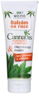 Bione Cosmetics Cannabis regenerierendes Balsam für zarte Hände