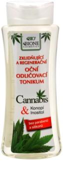 Bione Cosmetics Cannabis desmaquillante de ojos calmante