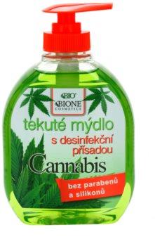 Bione Cosmetics Cannabis jabón antibacteriano para manos