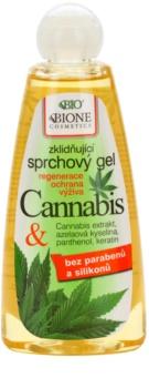 Bione Cosmetics Cannabis kojący żel pod prysznic