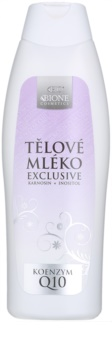 Bione Cosmetics Exclusive Q10 latte corpo emolliente idratante