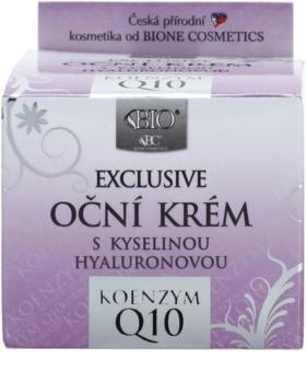 Bione Cosmetics Exclusive Q10 creme de olhos com ácido hialurónico