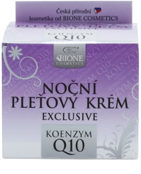 Bione Cosmetics Exclusive Q10 éjszakai arckrém