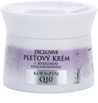 Bione Cosmetics Exclusive Q10 crema pentru ten  cu acid hialuronic