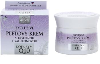 Bione Cosmetics Exclusive Q10 crema facial con ácido hialurónico