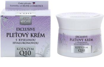 Bione Cosmetics Exclusive Q10 pleťový krém s kyselinou hyaluronovou