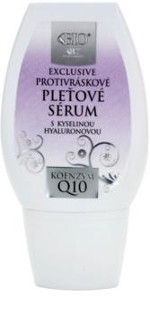 Bione Cosmetics Exclusive Q10 serum proti gubam s hialuronsko kislino
