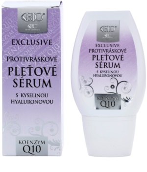Bione Cosmetics Exclusive Q10 Antifalten Serum mit Hyaluronsäure