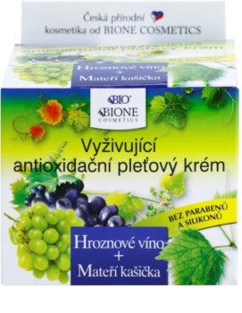 Bione Cosmetics Grapes crema nutriente antiossidante per il viso