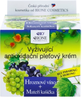 Bione Cosmetics Grapes Nourishing Antioxidant Cream For Face