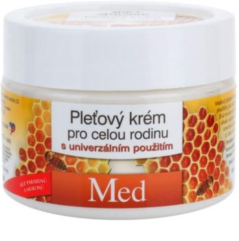 Bione Cosmetics Honey + Q10 arckrém az egész családnak mézzel