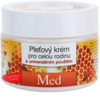 Bione Cosmetics Honey + Q10 krema za obraz za vso družino z medom