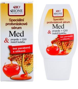 Bione Cosmetics Honey + Q10 speciális ránctalanító szérum