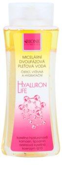 Bione Cosmetics Hyaluron Life dvofazna micelarna voda s hidratacijskim učinkom