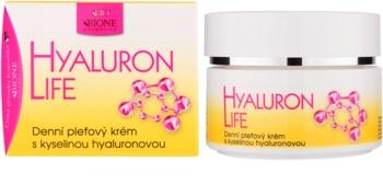 Bione Cosmetics Hyaluron Life денний крем для шкіри з гіалуроновою  кислотою