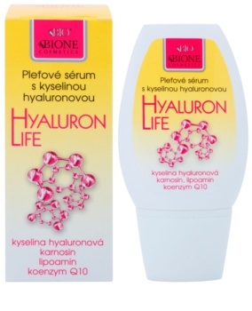 Bione Cosmetics Hyaluron Life ser hidratant si hranitor fata