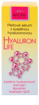 Bione Cosmetics Hyaluron Life serum nawilżająco - odżywiające do twarzy