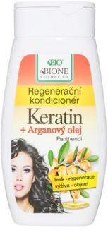 Bione Cosmetics Keratin Argan regenerační kondicionér