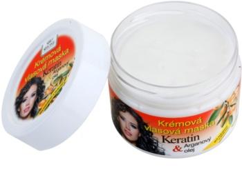 Bione Cosmetics Keratin Argan regeneračná maska  na vlasy