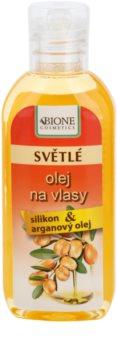 Bione Cosmetics Keratin Argan olaj a világos árnyalatú hajra