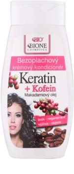 Bione Cosmetics Keratin Kofein leöblítést nem igénylő krémes kondicionáló