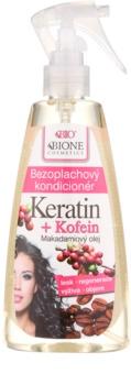 Bione Cosmetics Keratin Kofein condicionador sem enxaguar em spray