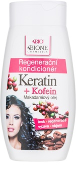 Bione Cosmetics Keratin Kofein condicionador regenerador para cabelo