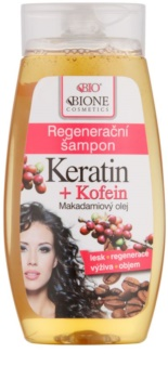 Bione Cosmetics Keratin Kofein champô regenerador