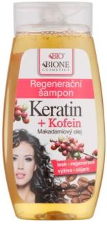 Bione Cosmetics Keratin Kofein champú regenerador