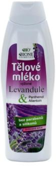 Bione Cosmetics Lavender leche corporal nutritiva